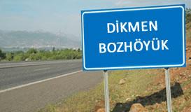 Dikmen TM - Bozhöyük KÖK