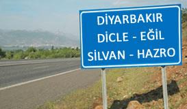 Diyarbakır - Dicle - Eğil - Silvan - Hazro Enh.